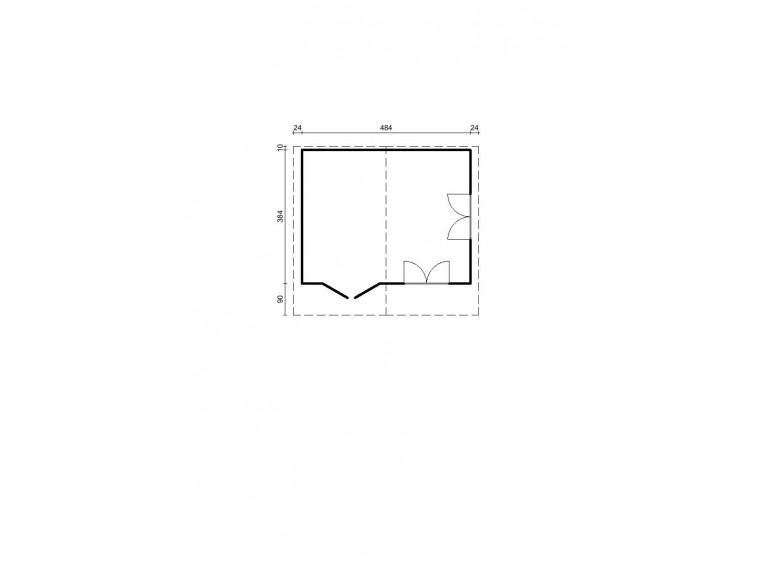 Szklarnia ogrodowa Top Quality 10,7m2