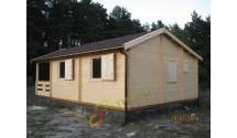 Mały drewniany domek drewniany Lara 1