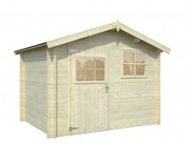 Domek drewniany bez pozwolenia Rona 2