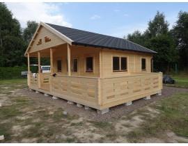Domek drewniany Cindy2