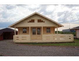 Domek drewniany Dell 1