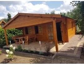 Duży domek drewniany Borneo 2 Promocja