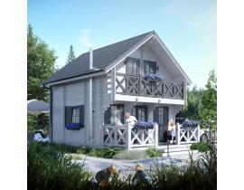 Domek drewniany ogrodowy Naomi 44