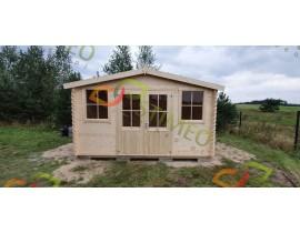 Domki letniskowe drewniane Adam 3 pokoje