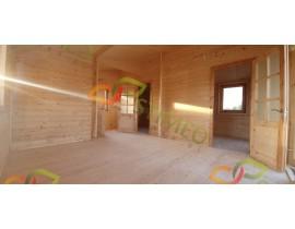 Garaż drewniany 400x600