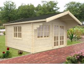 Domek ogrodowy drewniany Kim 1