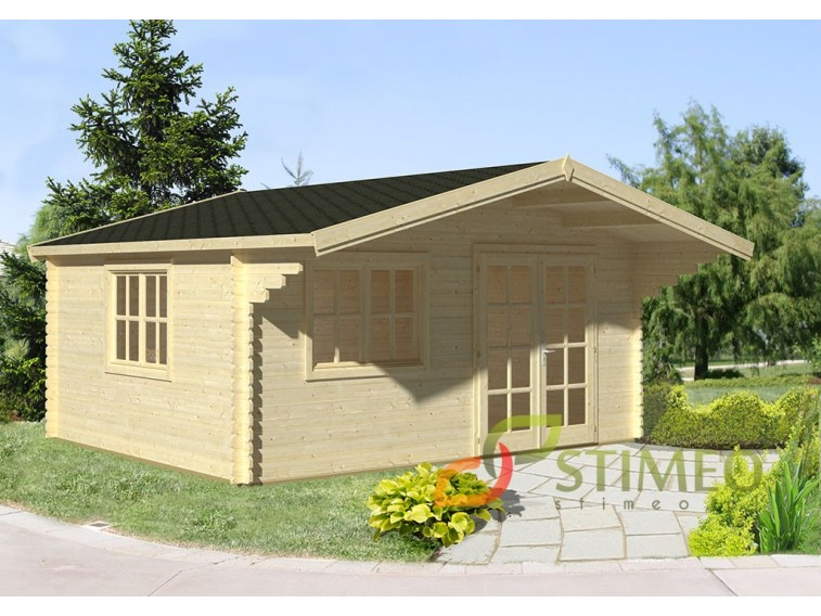 Domek drewniany Kim 3