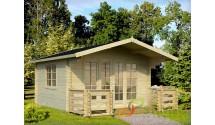 Domek drewniany z tarasem Lauren
