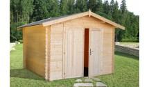 Drewniany domek na narzędzia Brian