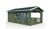 Domek drewniany Stella 2