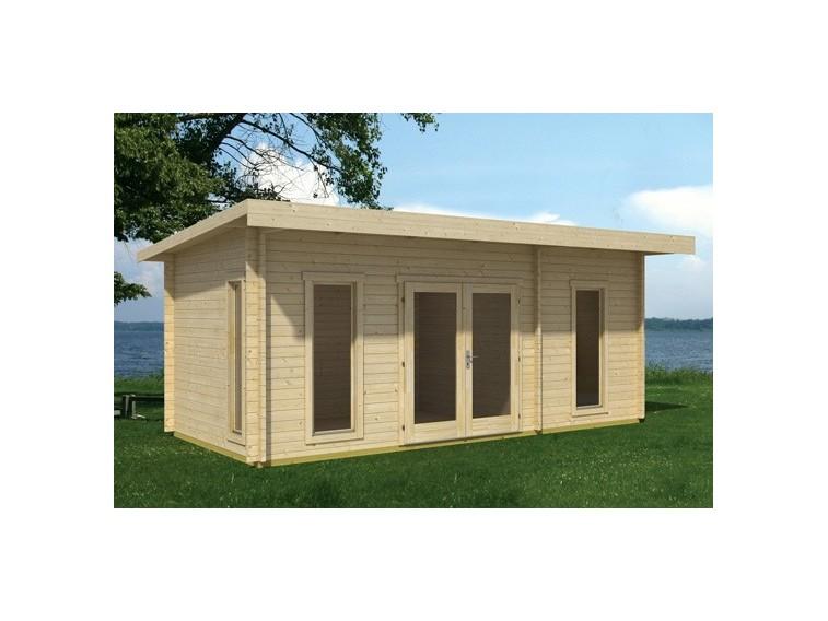 Domek drewniany David 1