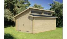 Garaż drewniany Beny