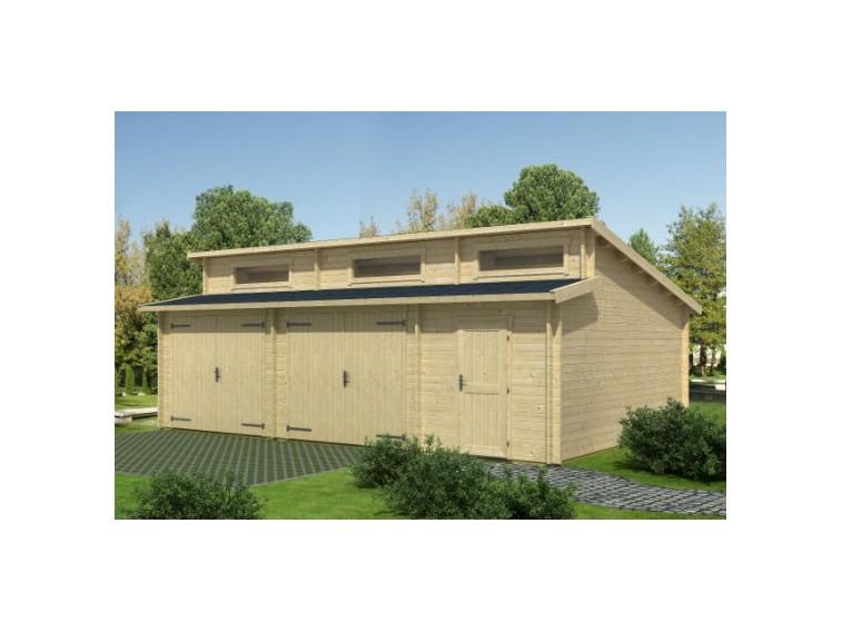 Garaż drewniany Big Beny