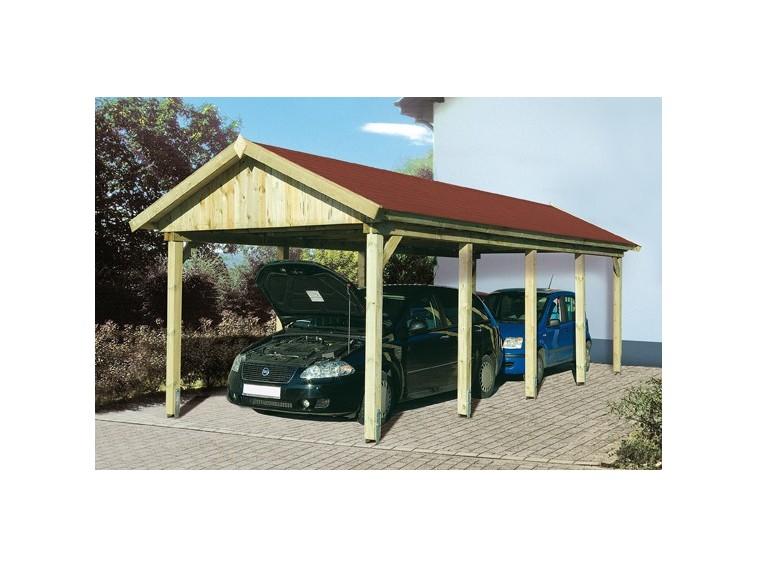 Wiata drewniana garażowa Konwalia