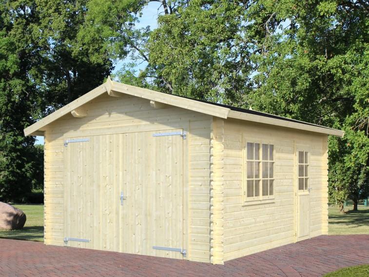 Garaż drewniany Bruce 34mm