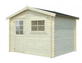 Duży drewniany domek Lara 4