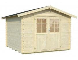 Domek drewniany narzędziowy Lucy