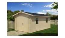 Garaż drewniany 320x520