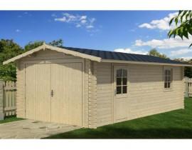 Garaż drewniany 400x550