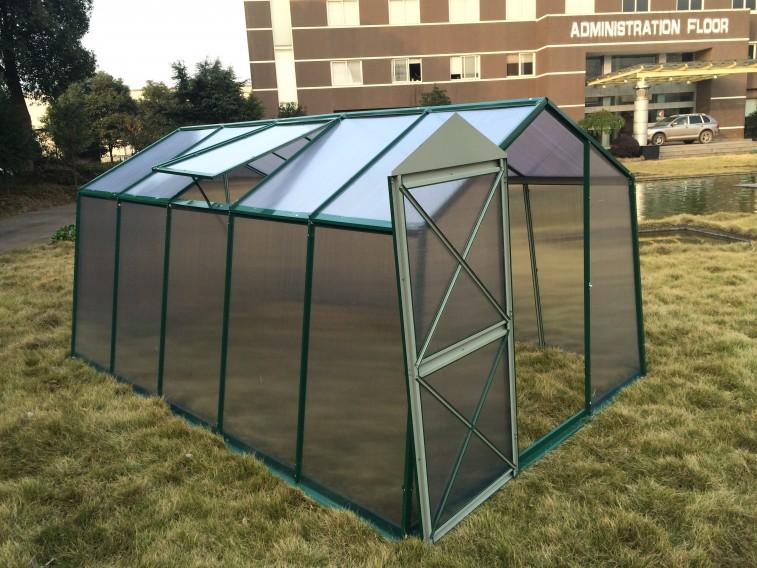 Szklarnia stalowa GreenEco 450 Zielona