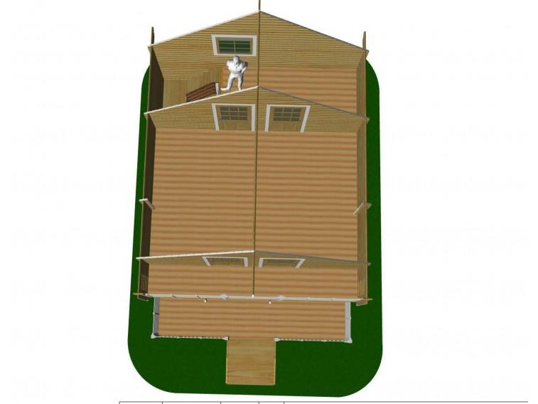 Domek drewniany Cecilia