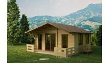 Sauna zewnętrzna w domku Anastazja