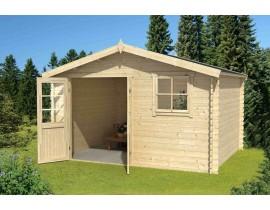 Mały domek drewniany Nolan 2 ver 2