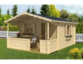 Domek drewniany ogrodowy Naomi 40