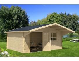 Domek ogrodowy drewniany Debra 3
