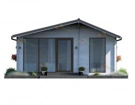 Domek drewniany ogrodowy Lea