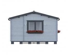 Domek z drewna rekreacyjny Deon