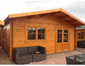 Domek letniskowy drewniany Aleks 32,5m2