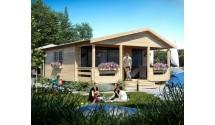 Domki letniskowe drewniane Adam LUX 4 pokoje