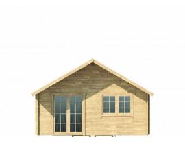 Domek drewniany Kalie 3 na działkę