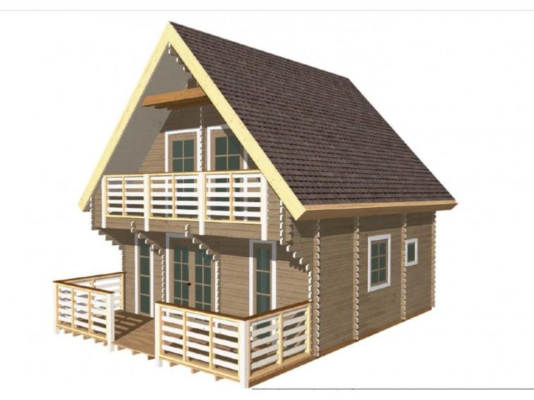 Domek drewniany Artur 45 st