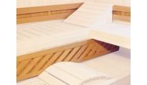 Zestaw oparć do saun Standard