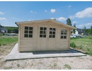 Domek drewniany Roben 3