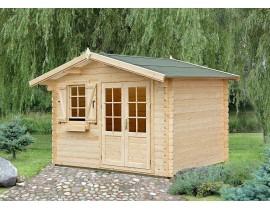 Domek drewniany letniskowy z tarasem Amelia