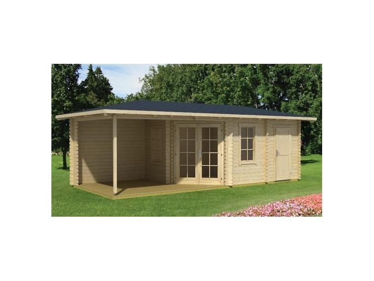 Drewniany domek ogrodowy Stella 3