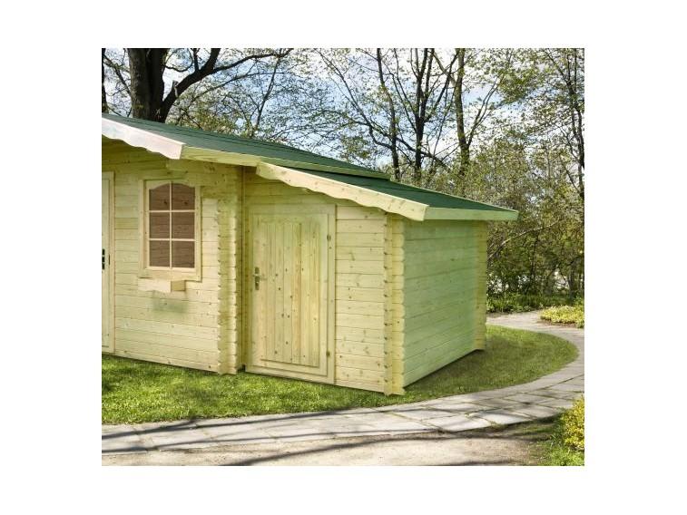 Przybudówka do domku ogrodowego