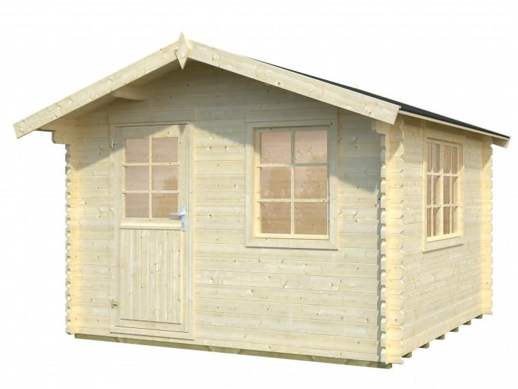 Domek z drewna Doris
