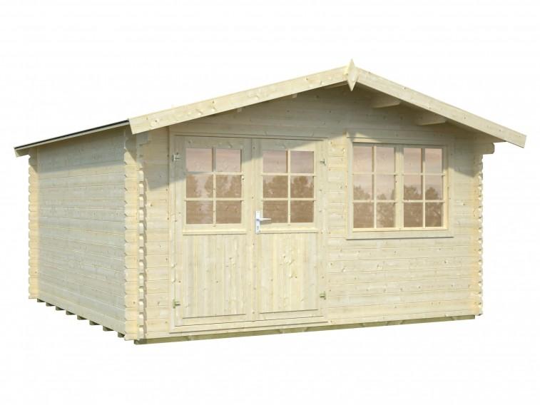 Domek z drewna na działkę Leia