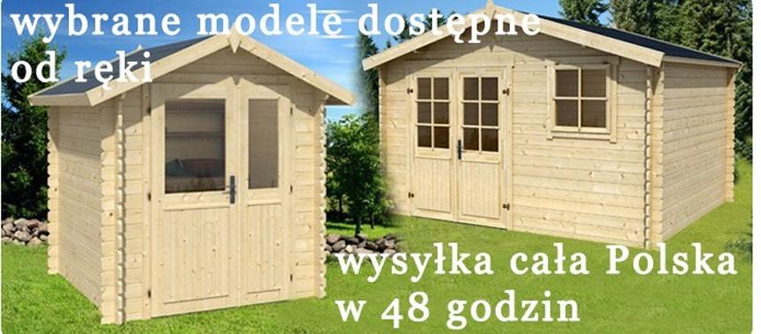 Domki drewniane - wysyłka w 48h